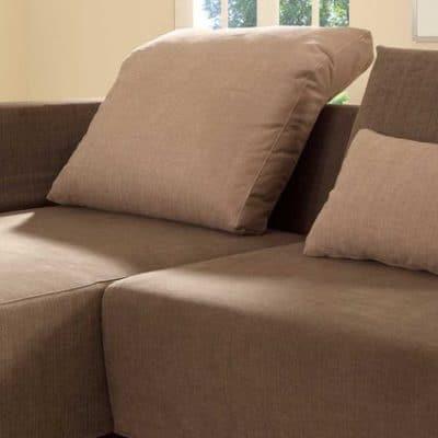 Sofaprogramm Giglio, Detail Faltkissen