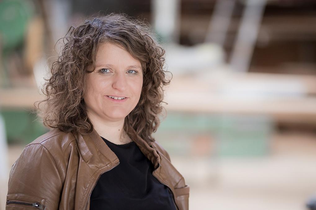 Jenny Bensberg, Geschäftsführerin, Tischlermeisterin & Handwerksdesignerin