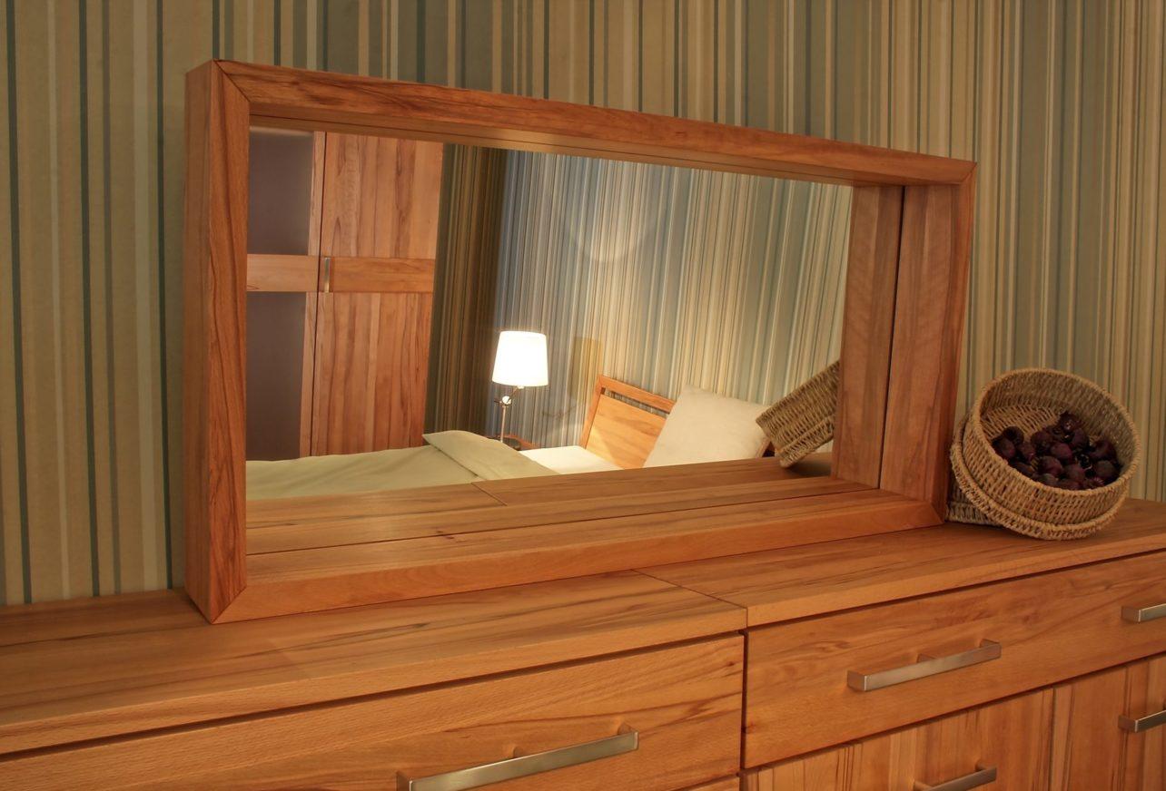 Spiegel Lucca in Kernbuche