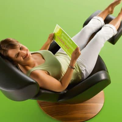stufenlos verstellbarer Entspannungssessel M31