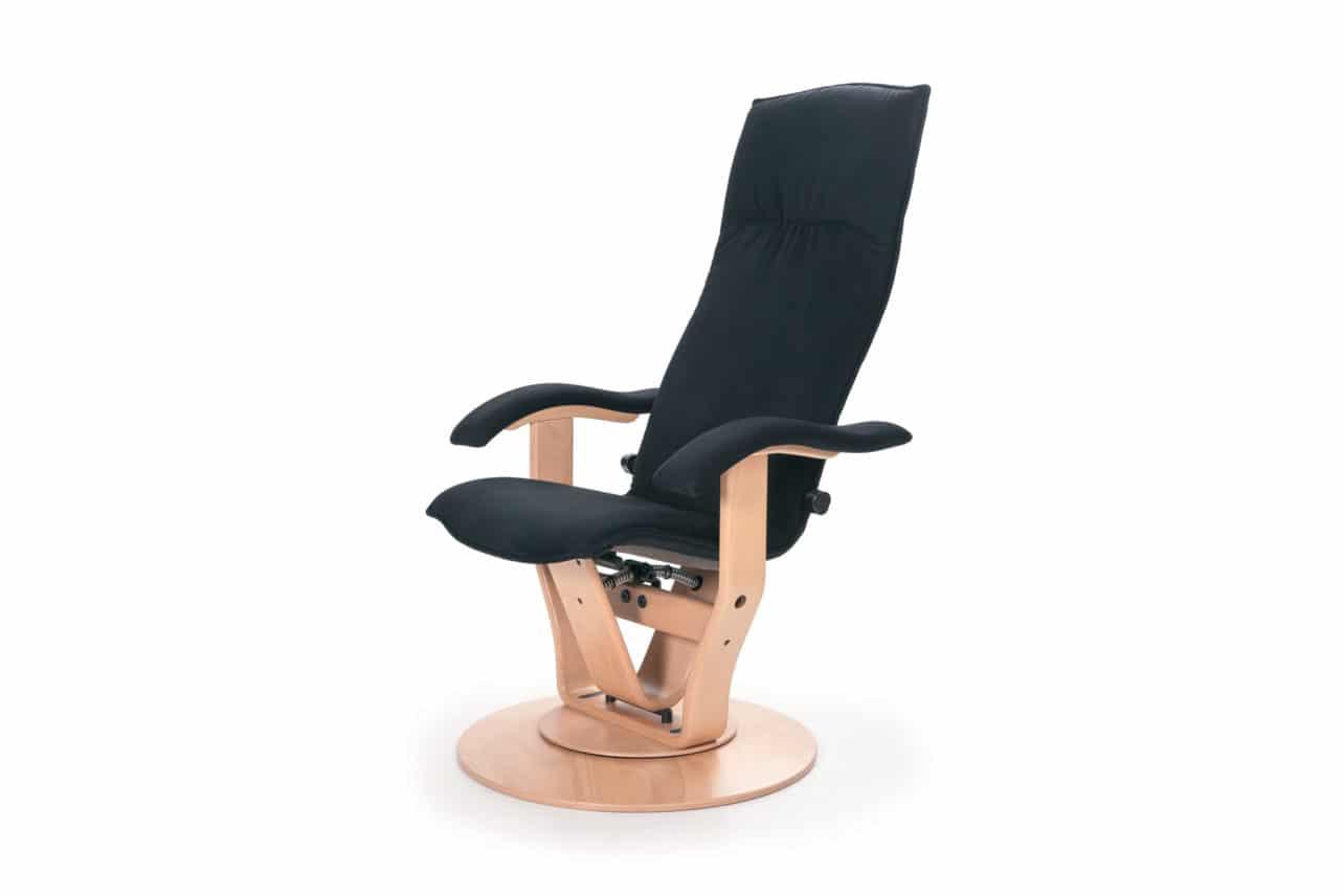 Entspannungssessel M13, geschlossener Fußteller, Standardpolsterung
